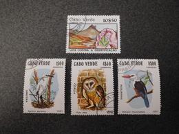 Stamps Of The World: Cabo Verde / Cape Verde (birds) - Cap Vert