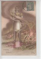 GUILLAUME ...ATTILLA II - ILLUSTRATION - 16.04.17 - Weltkrieg 1914-18
