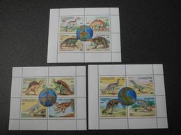 Stamps Of The World: Cambodia Cambodge (1 - Dinosaur Prehistoric Animals) - Cambodge