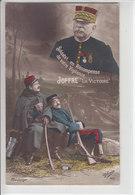 """SOLDATS,EN RECOMPENSE DE VOTRE VIGILANCE, JOFFRE """" LA VICTOIRE"""" - ILLUSTRATION - N/C - Weltkrieg 1914-18"""