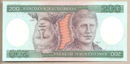 Brasile  - Banconota Non Circolata FdS Da 200 Cruzeiros P-199b - 1984 - Brésil