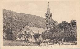 09 // VICDESSOS   L'église Et Le Village D'ORUS - Autres Communes