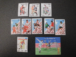Stamps Of The World: Cambodia Cambodge (4 - Football ) - Cambodge