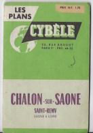 Plan De Chalon Sur Saone - Old Paper