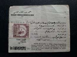 Maroc Espagnol - Marruecos - Tetuan 1946 - Recibo De Alquiler N° 4 - Maroc Espagnol