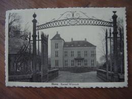 HOVE - Kasteel Wijninck - Hove