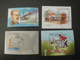 Stamps Of The World: Cambodia Cambodge (9 + Olympic Games Sports Horse Train Airplane Fish ) - Cambodge