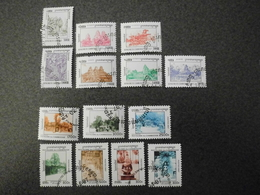Stamps Of The World: Cambodia Cambodge (11 - Culture Temples History Statues Buildings) - Cambodge