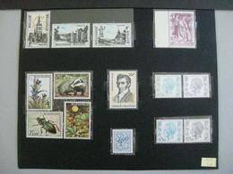 Timbres Belgique : 1974 Cob N° 1734 à 1745 **  & - Neufs
