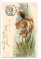 Illustrateur - KLEIN - Iris, Carte Gauffrée - Klein, Catharina