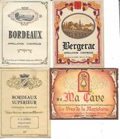 Anciennes étiquettes De Vin. Stanislas Dumez. Négociant à Bailleul - Alimentaire