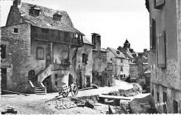 12 - SAINTE EULALIE ( Près De ST GENIEZ ) Une Rue Pittoresque ( Pub Murale BYRRH ) CPSM Dentelée Format CPA - Aveyron - France