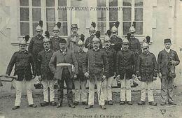C-18 : 1461 : LES POMPIERS DANS LA CAMPAGNE. L AUVERGNE PITTORESQUE - France