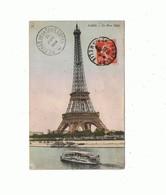 75_PARIS_la Tour Eiffel ( Cachet Du Premier Etage De La Tour) - Eiffelturm