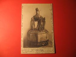 CARTOLINA   AMPOLLA OFFERTA DEI TRIESTINI SULLA TOMBA DI DANTE IN RAVENNA       D - 3334 - Ravenna