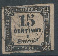 Lot N°41126   N°3, Oblit Cachet à Date A Déchiffrer - Taxes