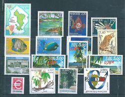 Mayotte Timbres De 1999 N°69 A 80   Neuf ** (prix De La Poste 12,78€) - Neufs