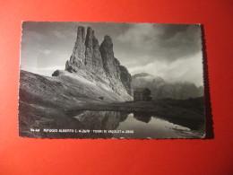 CARTOLINA  RIFUGIO ALBERTO TORRI DI VAJOLET           D - 3341 - Bolzano
