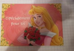 Carte Postale DISNEY Format 17/12 Neuve PRINCESSE   SPECIALEMENT POUR TOI - Disney