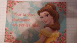 Carte Postale DISNEY Format 17/12 Neuve PRINCESSE  POUR LA PLUS BELLE DES PETITES FILLES - Disney