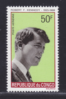 CONGO AERIENS N°   73 ** MNH Neuf Sans Charnière, TB (D5241) Kennedy - Congo - Brazzaville