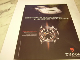 PUBLICITE AFFICHE MONTRE TUDOR - Bijoux & Horlogerie