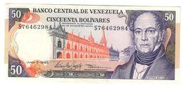 Venezuela 50 Bolivares 05/06/1995 UNC- .C. - Venezuela
