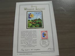 "BELG.1972 1639 FDC Fr.Carte D' Or/soie N°031 ""William Lennox Centrum - Centre William Lennox"" - 1971-80"