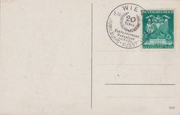 DR AK EF Minr.769 Plf.I Dunkle Stange Durch 6 SST Wien 5.10.41 - Briefe U. Dokumente
