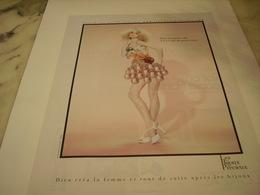 PUBLICITE AFFICHE BIJOUX PRECIEUX - Bijoux & Horlogerie