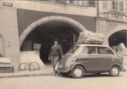 Orig.Foto 195?, Seltenes Altes Auto, Fotoformat Ca. 10,5 X 7,4 Cm, Gute Erhaltung - Automobiles
