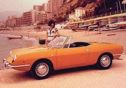 Fiat 850 Spider -  1969  -  CPM - Voitures De Tourisme