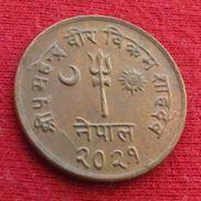 Nepal 5 Paisa 1964 Wºº - Nepal