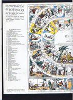 """1960 Publicité Laboratoires  / Jeu De Société (genre De L'Oie) / """" Jeu Universel De L'Industrie Humaine """" - Jeux De Société"""