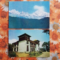 SIKKIM - HIMALAYA Nepal 2 PCs Lot - Nepal