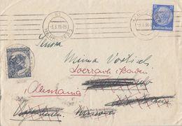 DR Brief EF Minr.522 Hannover 3.3.38 Gel. Nach Argentinien, Zurück Nach Loerrach Ansehen !!!!!!!!!!! - Briefe U. Dokumente