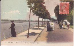 CPA - 2. VICHY - Promenade Du Bord De L ' ALLIER - Vichy