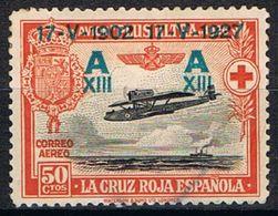 [CF7219] España 1927, Cruz Roja Española, 50 C. Sobreimpresión (MN) - 1889-1931 Kingdom: Alphonse XIII
