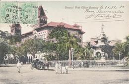 BOMBAY General Post Office Bombay Timbrée Avant Et Arrière - India