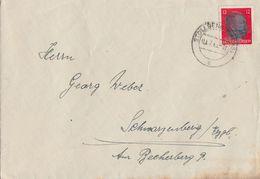 SBZ Brief Sächsische Schwärzung Minr.AP 788 Stollberg 3.7.45 Geprüft Zierer BPP - Sowjetische Zone (SBZ)