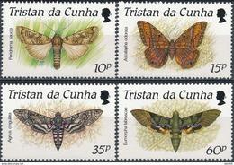 Tristan Da Cunha   Butterflies - Vlinders