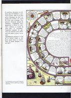 """1960 Publicité Laboratoires  / Jeu De Société (genre De L'Oie) / """" Le Nouveau Jeu De La Marine """" - Jeux De Société"""