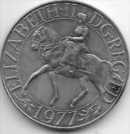 Great Britain 25 New Pence 1977 Km 920    Xf+ - 1971-… : Monedas Decimales
