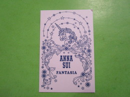 ANNA SUI - FANTASIA  -  Carte Parfumée - Perfume Cards
