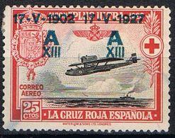 [CF7220] España 1927, Cruz Roja Española, 25 C. Sobreimpresión (U) - 1889-1931 Kingdom: Alphonse XIII