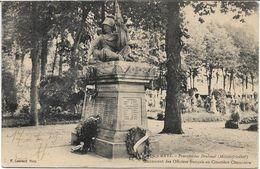 CPA - METZ - Monument Des Officiers Français Au Cimetière Chambière - Metz