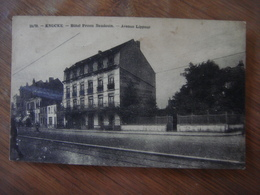 KNOKKE - Hôtel Prince Baudouin - Avenue Lippens - Knokke
