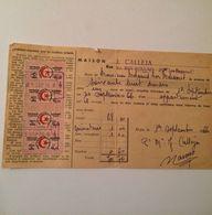 ALGERIE- RECU DE LOYER-( Pour Les Locations Verbales)-MAISON CALLEJA-1966 - Frankrijk