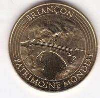 Jeton Médaille Monnaie De Paris MDP Briançon Le Pont Patrimoine Mondial 2016 - 2016