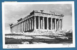 GREEK GREECE ATHENE PARTHENON 1953 - Grecia
